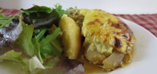 Poêlée de poulet aux courgettes