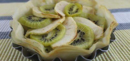 Tartelettes pomme & kiwi