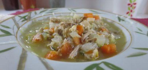Soupe de poulet