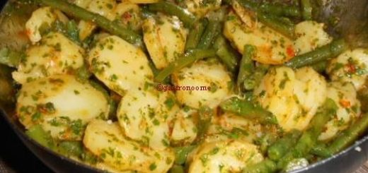 Salade de pommes de terre épicée