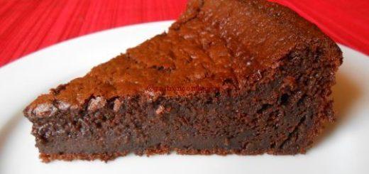 Gâteau au chocolat extra fondant