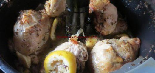 Poulet au citron à l'actifry