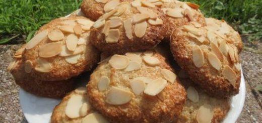 Petits biscuits aux amandes sans gluten