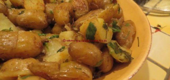 Pommes de terre ratte sautées