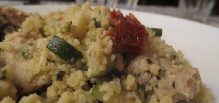 cuisson ultra rapide de la semoule de couscous