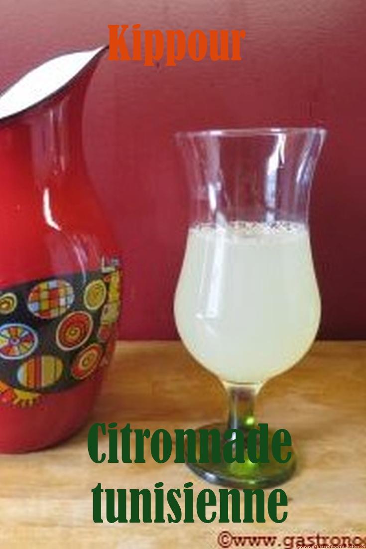 Kippour - Citronnade tunisienne