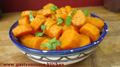Salade tunisienne de carottes au cumin