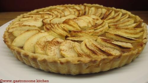 vegan - Tarte aux pommes à la compote