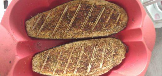 Aubergines rôti à la provençale