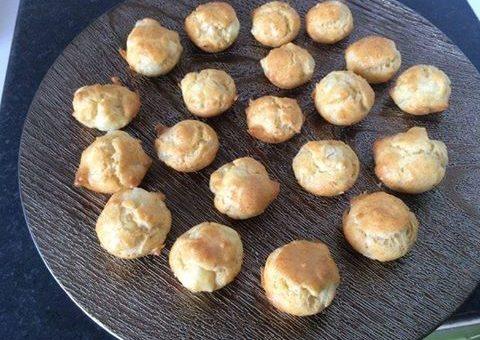 Bouchées apéritives au camembert