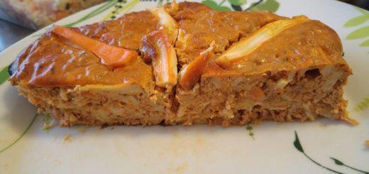 Cake thon tomate surimi
