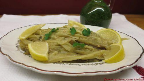 vegan - Effilochée d'aubergines et son huile verte