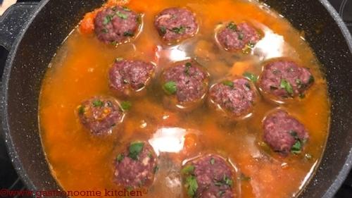 Boulettes de viande de Nanane